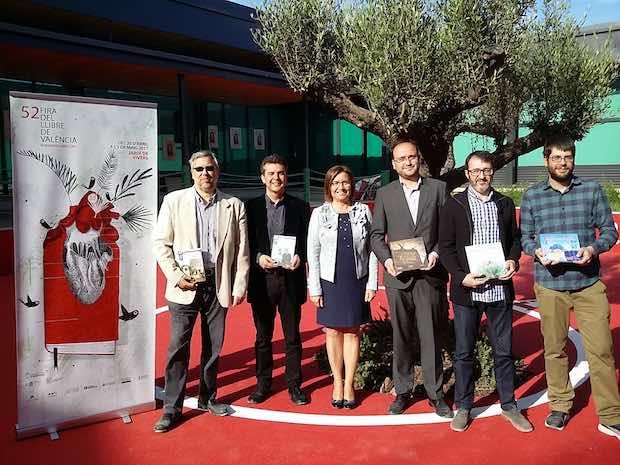 Els Premis Ciutat de Benicarló aterren a la Fira del Llibre de València