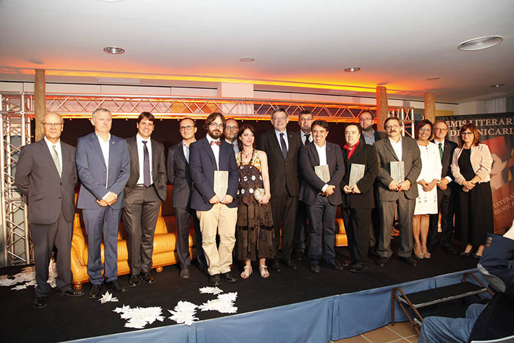 Benicarló esdevé referent cultural i literari de les comarques del nord en el lliurament de la segona edició dels Premis Literaris