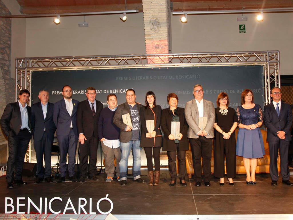 Benicarló es consolida com a referent cultural de les comarques del nord amb els Premis Literaris