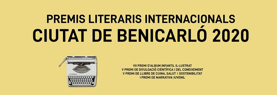Listado de obras participantes en los Premios Literarios Internacionales Ciutat de Benicarló 2020